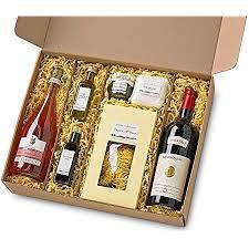 präsentkorb grande festa italien feinkost geschenk für männer und frauen i geschenkkorb geschenkbox mit wein olivenöl und spezialitäten aus der