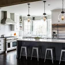 clear glass globe kitchen pendant lights design ideas