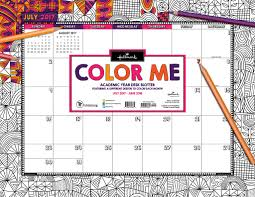 color me by hallmark tf publishing 2018 calendars planners