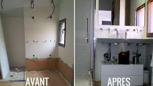 faire une salle de bain dans une chambre avant après une chambre parentale avec salle de bains privative