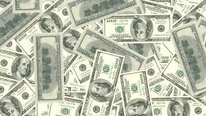 American USA 100 Dollar Bill Banknote Green Money Stock Footage
