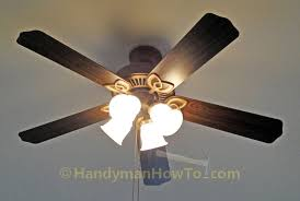 Hampton Bay Ceiling Fan Glass Cover by How To Replace A Ceiling Fan Motor Capacitor