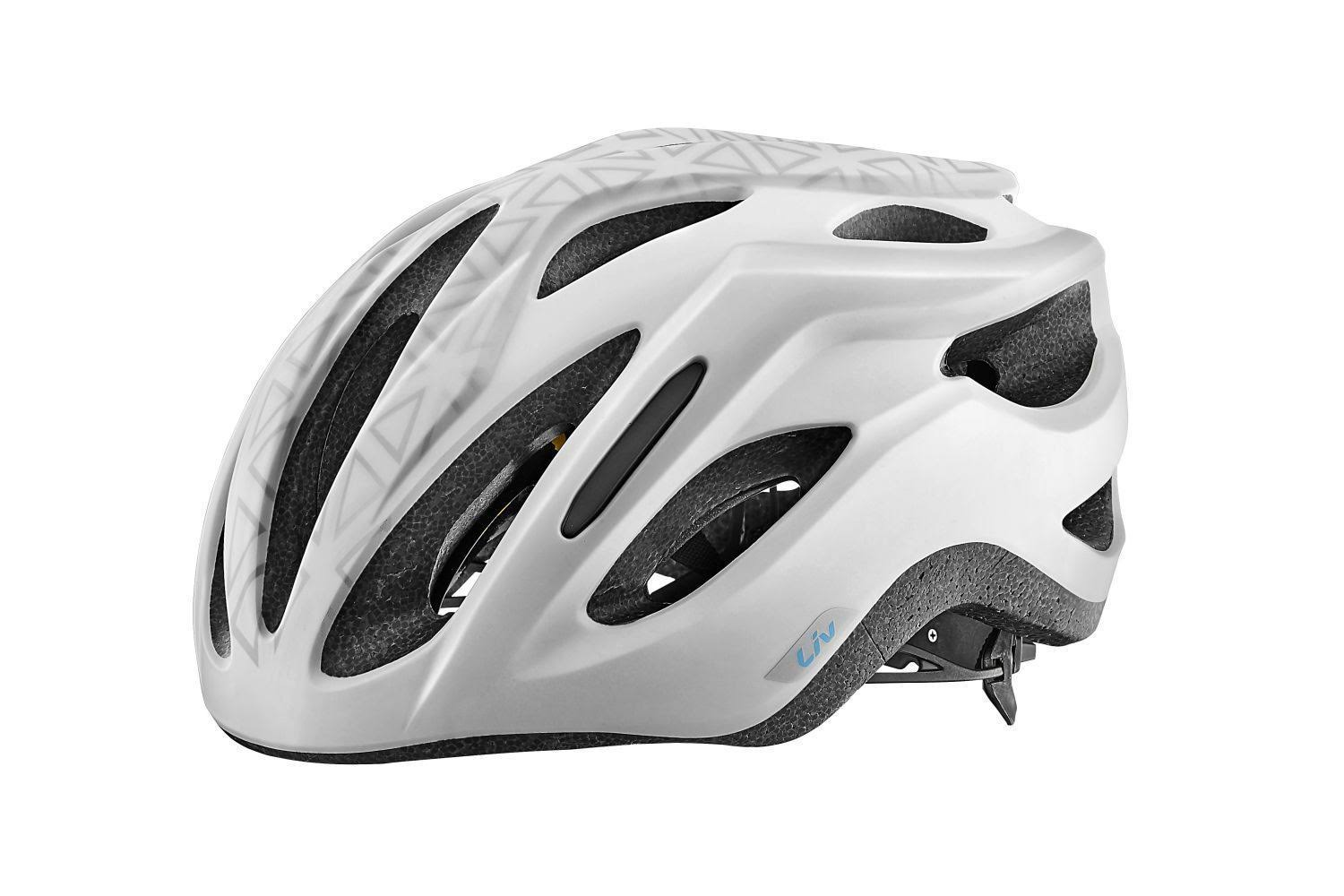 Liv Rev Comp Helmet - Matte White - Medium/Large