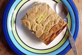 rhubarb cake with cashew vanilla creme vegan gluten free