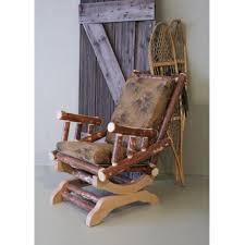 Log Rocking Chairs