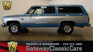 100 1986 Chevy Trucks For Sale Chevrolet Suburban Gateway Classic CarsNashville474 YouTube