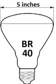 cfl br40 reflector light bulbs elightful canada light bulbs