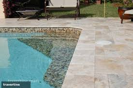 3 reasons why travertine pavers are for a pool deck