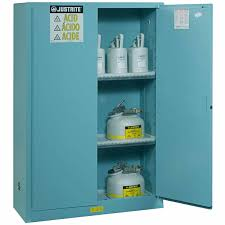 Justrite Flammable Cabinet 45 Gallon by Acid Storage Cabinet
