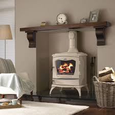 Superior Tile And Stone Gilroy by My Stanley Oisin Cream Enamel Stove With Polished Black Granite
