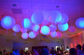 Hanging Paper Lanterns & Lights