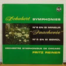 100 Fritz 5 Reiner Schubert Symphonies No8 No