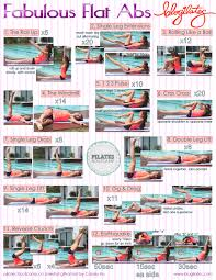 100 Ab Flat Pilates Bootcamp Fabulous S Printable Blogilates