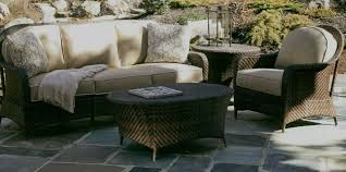 Braxton Culler Sofa Table by Braxton Culler Belle Isle Outdoor Wicker Furniture
