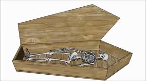 Diy Halloween Coffin Prop by Halloween Coffin Plans Youtube