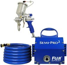 Best Hvlp Sprayer For Cabinets by Fuji 2203g Semi Pro 2 Gravity Hvlp Spray System Power Paint