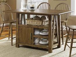 nice kitchen table with storage and beautiful kitchen island