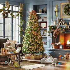 9 Ft Pre Lit Slim Christmas Tree by Decorations 10 Ft Pre Lit Christmas Tree Walmart Xmas Trees