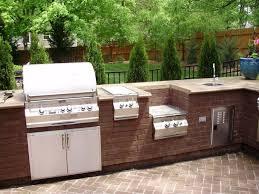 outdoor küche im garten die richtige planung macht es möglich