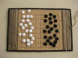 Fabric Go Game Board