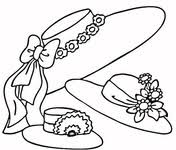 Hat Coloring Pages