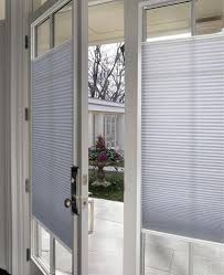 French Patio Doors With Built In Blinds by Alternatives To Enclosed Door Blinds You Can Install Yourself