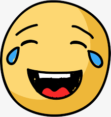 Laugh Cry Look Expression Emoji Emoticon PNG And Vector