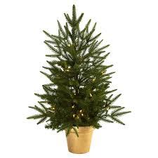 Hayneedle Christmas Trees by Cashmere Pine Christmas Tree Christmas Lights Decoration