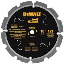 Cut Laminate Flooring With Miter Saw by Dewalt Dwa31012pcd 12t Pcd Tipped Laminate Cutting Blade 10