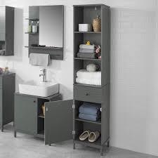 sobuy bzr22 dg badezimmer hochschrank badschrank badregal badezimmerschrank mit 3 offenen fächern