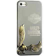 Zippo 3D Harley Davidson Eagle Metal Case for iPhone 5 & 5s & SE