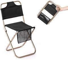 Folding Backpacking Stool, Portable Ultralight Fishing Chair ...