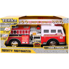 100 Tonka Fire Rescue Truck Mighty Motorized Engine Vehicle Walmartcom