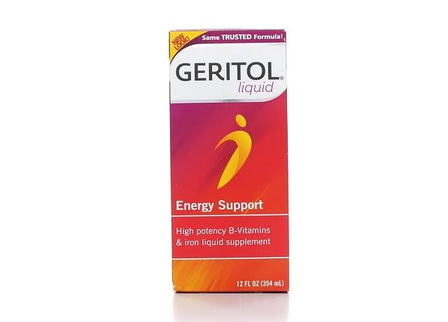 Geritol High Potency Vitamin and Iron Supplement - with Ferrex Tonic, 12oz