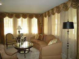 Living Room Lounge Curtains Sectional Couch Yellow Sponge Cushion Steel Chrome Chandelier Rustic Wooden