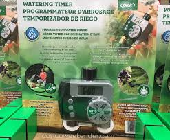 Hose Faucet Timer Orbit by Orbit Watering Timer Costco Weekender