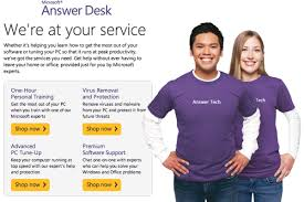 Microsoft launches online Answer Desk troubleshooting service