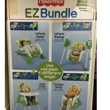 Fisher Price Ez Bundle High Chair + Newborn Seat + Infant ...