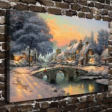 Thomas Kinkade Christmas Tree by Kinkade Christmas Village Promotion Shop For Promotional Kinkade