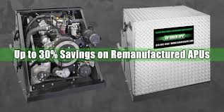 100 Truck Apu Prices Auxiliary Power Units For Semi S Go Green APU
