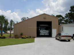 Rv Storage Garage Front
