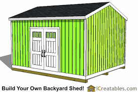 Diy Storage Shed Plan by 14x16 Shed Plans Build A Large Storage Shed Diy Shed Designs