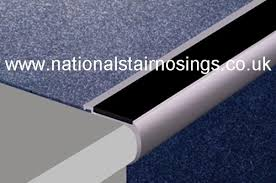 Tile Stair Nosing Trim by Heavy Duty Aluminium Rounded Anti Slip Stair Nosings For Carpets