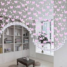 Glass Bead Curtains For Doorways by Window Beads Curtains Ideas Mellanie Design