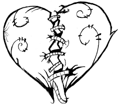 Pencil Drawings Of Hearts And Roses Free Download Clip Art