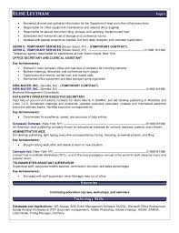 Front Desk Receptionist Salary Nj by Elise Leytham Resume Executive Assistant 05 017