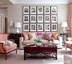 Traditional Home Poised Taupe Wall