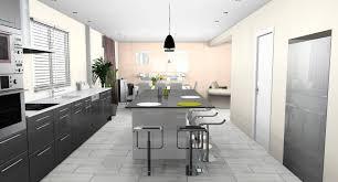 cuisine ouverte sur salle a manger separation cuisine salle a manger 6 d233co cuisine americaine