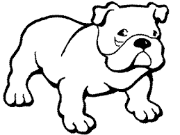 Dog Coloring Pages For Kids Picture 4