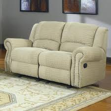 100 darrin leather reclining sofa with console abbyson